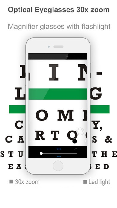 Pocket Glasses Premium - text magnifier and sight app image