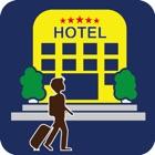 旅游酒店. icon