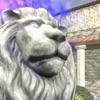 脱出ゲーム ライオン像のある中庭からの脱出