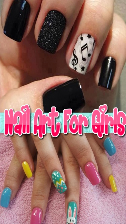 Nail Art For Girls Free - Salon for Princess Nail Art Designs- Manicure tips