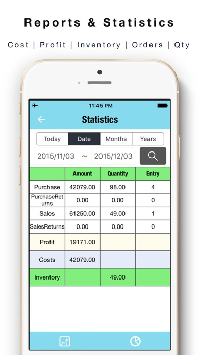 daily sales tracker 2 items storage stock tracker app price drops