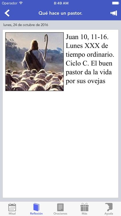 Misal de España - Catolicapp.org screenshot-3