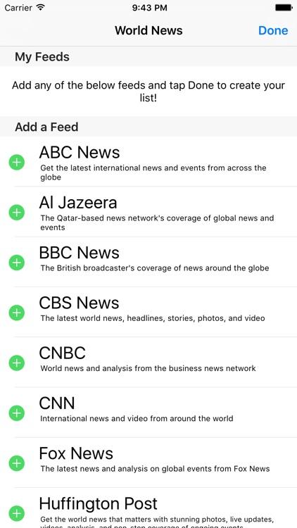 World News - Headlines Around The Globe! screenshot-4