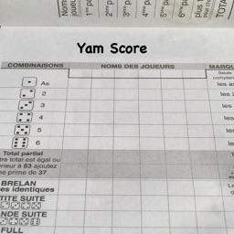 Yahtzee Score