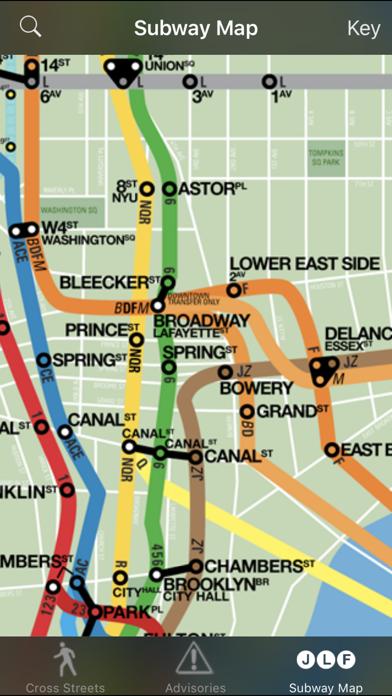 Nyc Subway Map A C E.Crosswalk Nyc Cross Street Finder Subway Map App Price Drops