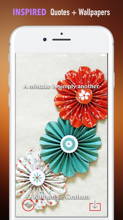 Paper Flower Crafts Wallpapers HD- Quotes and Art screenshot-4