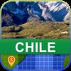 Desconectado Chile Mapa - World Offline Maps