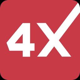 Get4x - Cash Exchange Rates