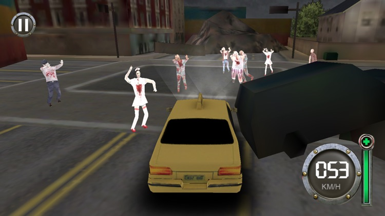 Zombie Escape-The Driving Dead screenshot-1
