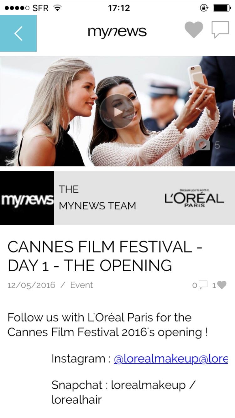 mynews app Screenshot