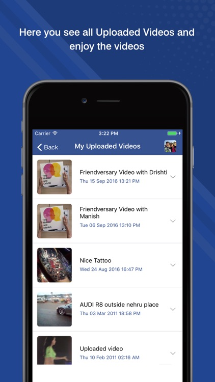 Social Video Player for Facebook