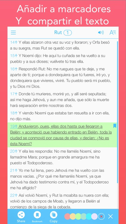 La Biblia Reina Valera en Español (Spanish Bible) screenshot-4