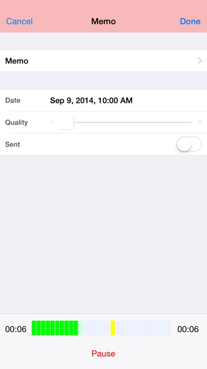 Audio Memos Free - The Voice Recorder