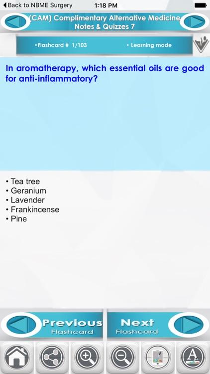 CAM Complimentary Alternative Medicine 2200 Q&A