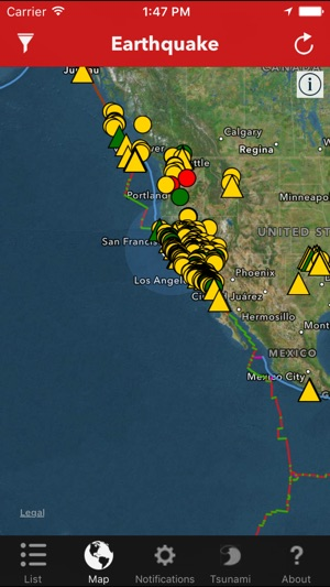 Earthquake worldwide coverage of natural disasters on the app store gumiabroncs Image collections
