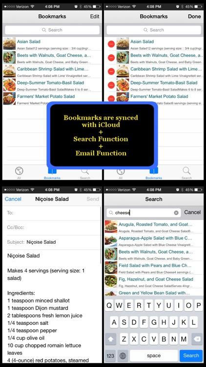 500 Salad Recipes screenshot-4