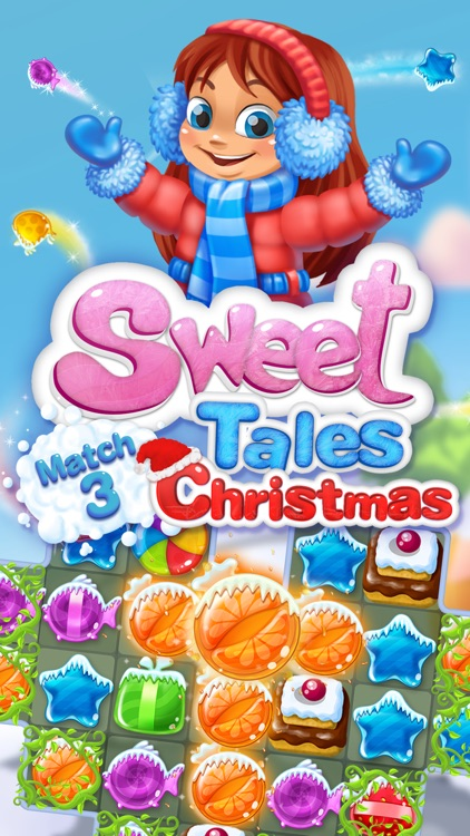 Sweet Tales: Match 3 Christmas screenshot-0