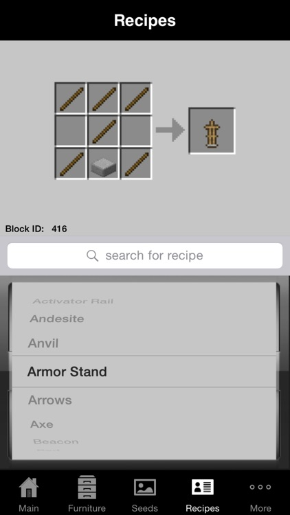 Guidecraft Pro - Furniture, Seeds.. for Minecraft screenshot-3