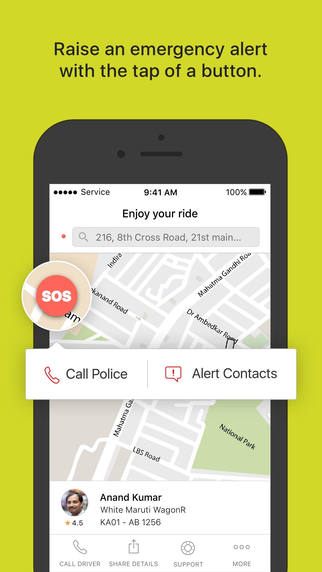 Ola cabs - Book taxi in India Screenshot