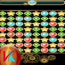 The Diamond Stars And Jewel Match Puzzle Game