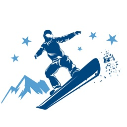 Winter Sports Stickers - Ski, Snowboard and more