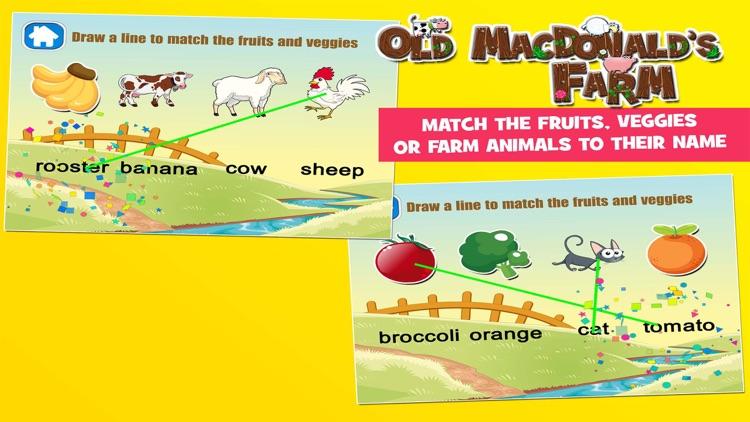 Old MacDonald had a Farm Games for Kids screenshot-3