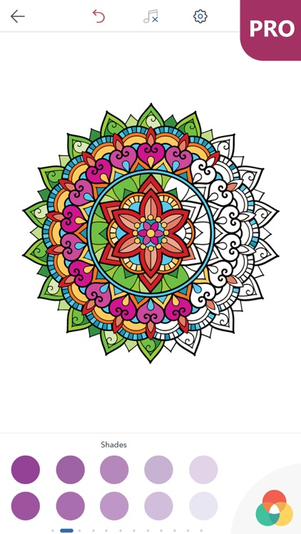 Mandala Coloring Pages for Adults PRO screenshot-3