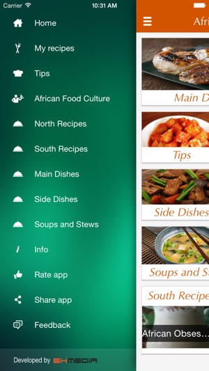 African food recipes best cooking tips ideas on the app store forumfinder Images