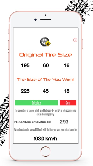 Tire / Rim Size Calculator + | App Price Drops