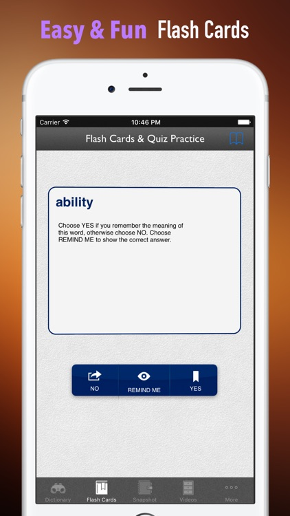 English Synonyms Dictionary and Flashcards Guide screenshot-4