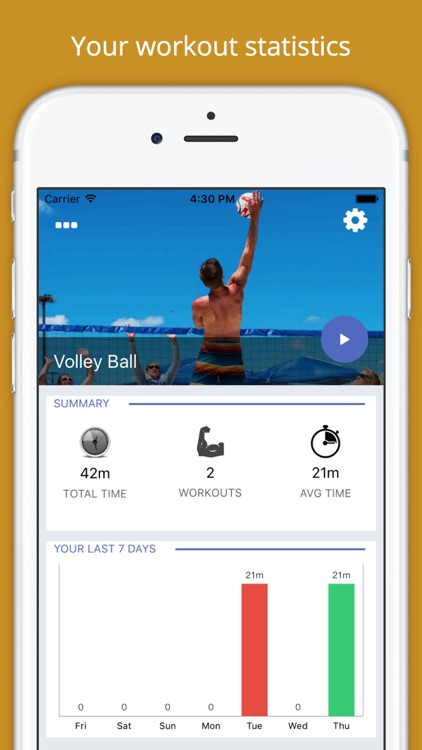 Volleyball Workout Challenge PRO - Build Muscles