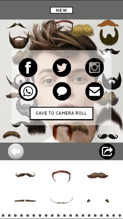 Mooch - Beard & Mustache Photo Editor for Men Face screenshot-3