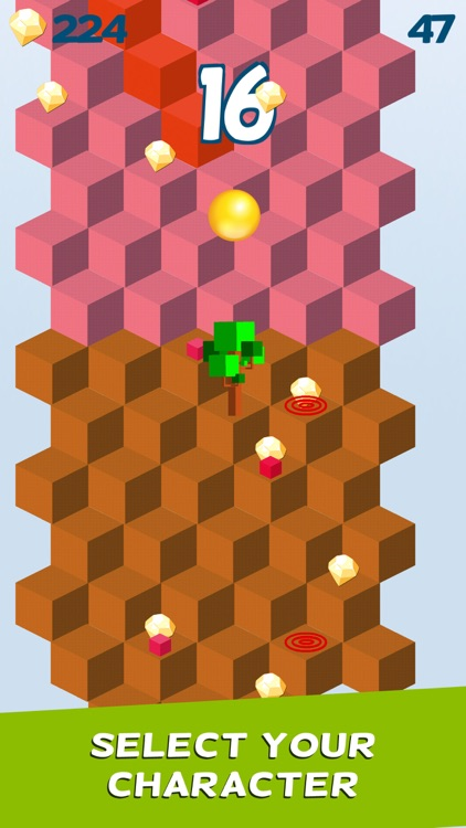 Cube Skip Ball Games screenshot-3