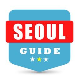 首尔自由行地图 首尔离线地图 首尔地铁 首尔火车 首尔地图 首尔旅游指南 Seoul metro map offline 南韩国首尔攻略