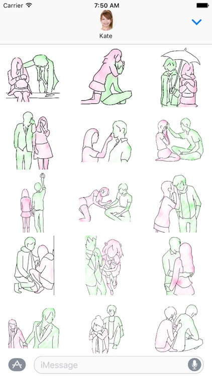 Couples Sticker 2nd
