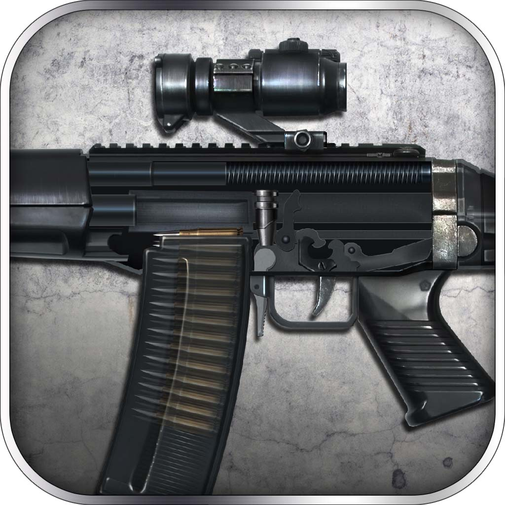 Assembly and Gunfire: Assault Rifle SIG-552 - Firearms Simulator with Mini Shooting Game for Free by ROFLPlay hack