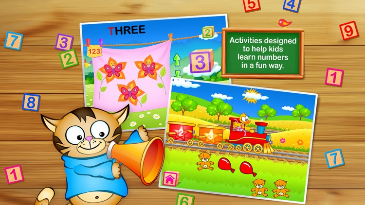 123 Kids Fun GAMES - Preschool Math&Alphabet Games