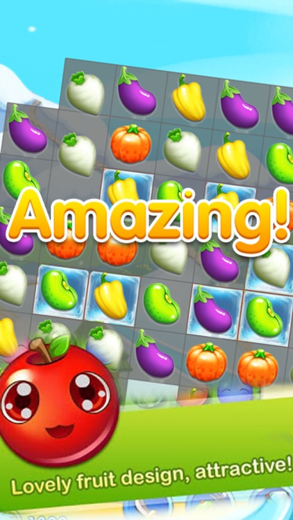 Fruits Garden - Match 3 Puzzle