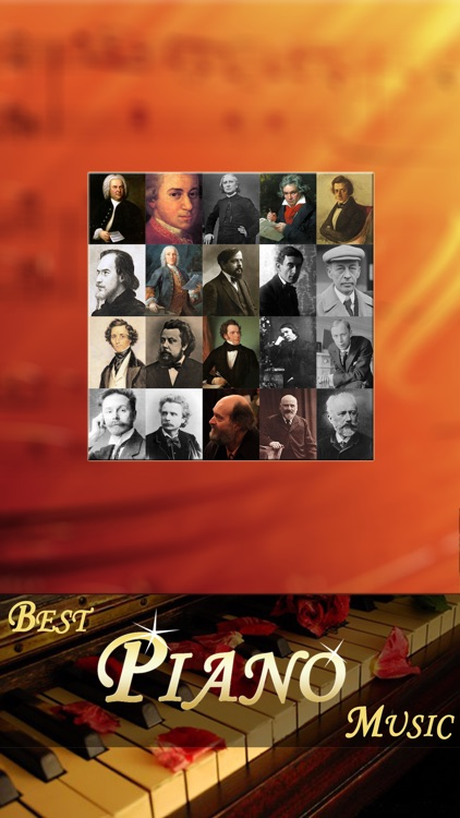 piano music player -  classical masterpieces free