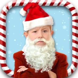 Santa Claus Camera Stickers – Xmas Dress Up Editor