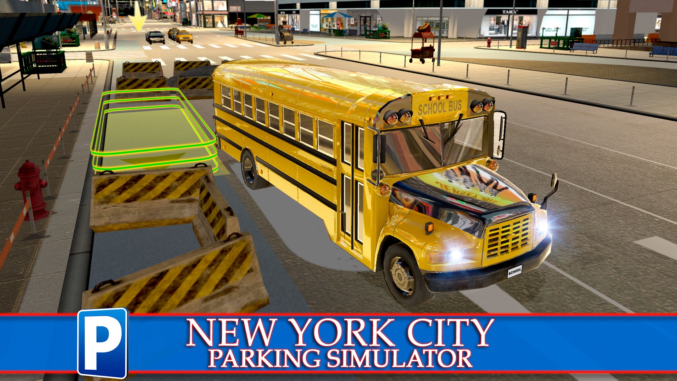 New York City Car Taxi and Bus Parking Simulator by Play