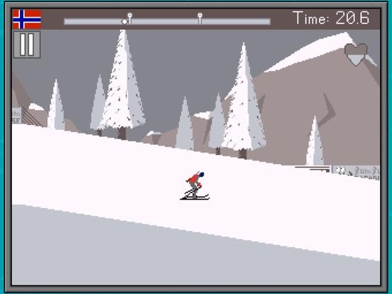 Retro Winter Sports 1986 на iPad