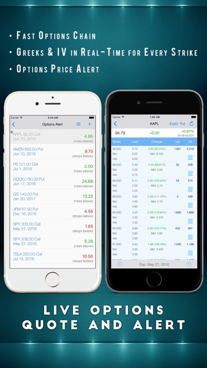 Options Pro Screener for Stock Market Trading screenshot-0