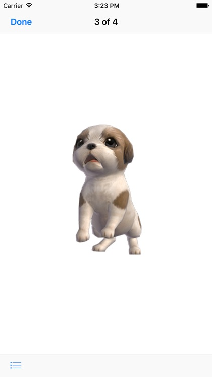 Shih Tzu - Animated Puppy Stickers screenshot-3