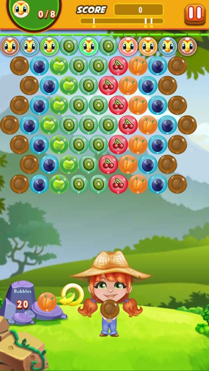 Bubble Shooter Farmer : Free Arcade Bubble shooter screenshot-4