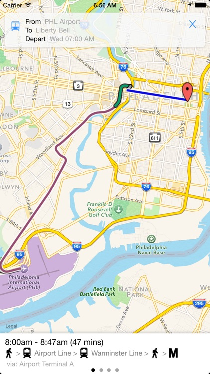 Transit Tracker - Philadelphia (SEPTA) screenshot-3