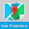 旧金山旅游指南地铁去哪儿地图 San Francisco metro map guide