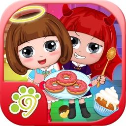 Belle little angel dessert maker - free kids game
