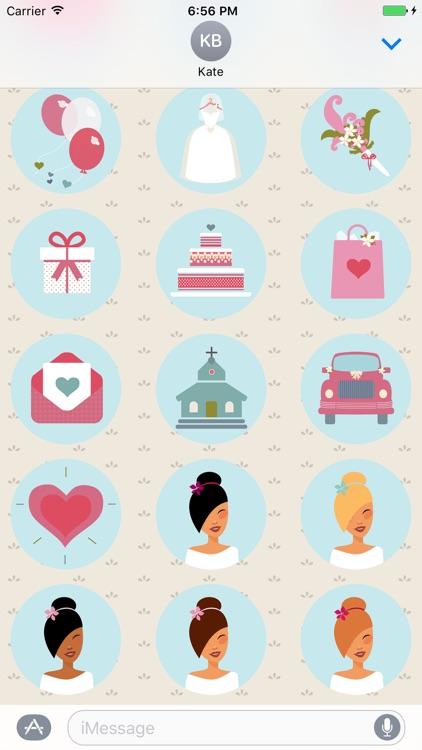 Wedding Day Stickers screenshot-4