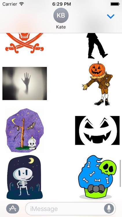 Halloween Stickers Sheet screenshot-3